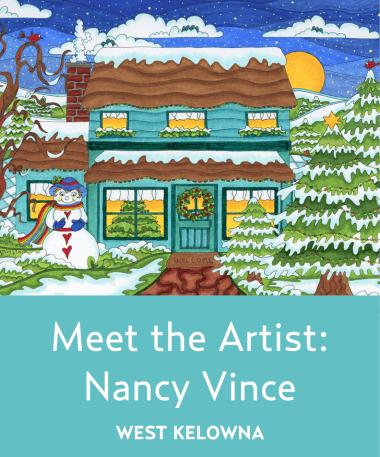 Meet the Artist<br>Nancy Vince